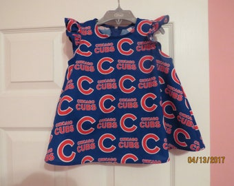 Little girl's MLB Chicago Cubs top (size 3)