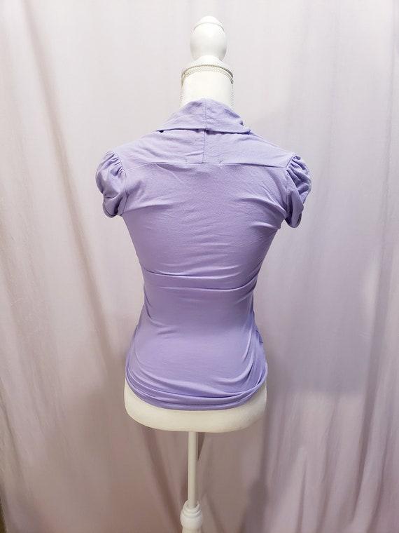 Purple /Lilac Blouse - image 5