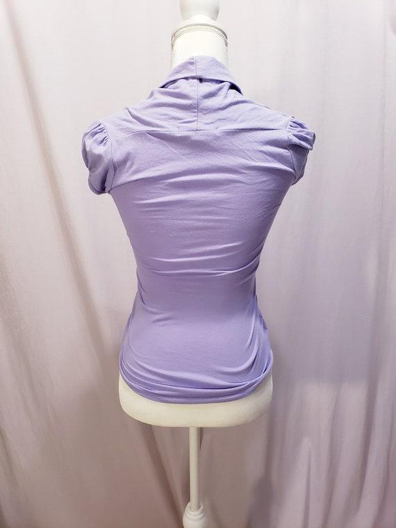 Purple /Lilac Blouse - image 4
