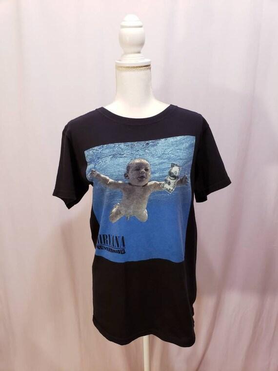 Nirvana Nevermind Graphic T Shirt