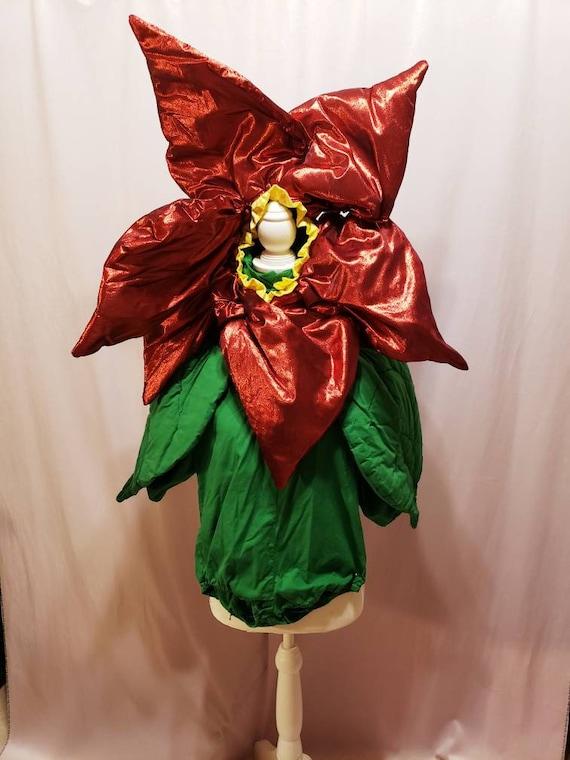 Poinsettia Costume