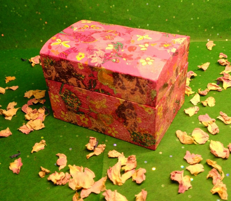 Mini Box Faery Fairy Faerie Gift Box Cute Yule Gift