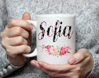 name coffee mug etsy
