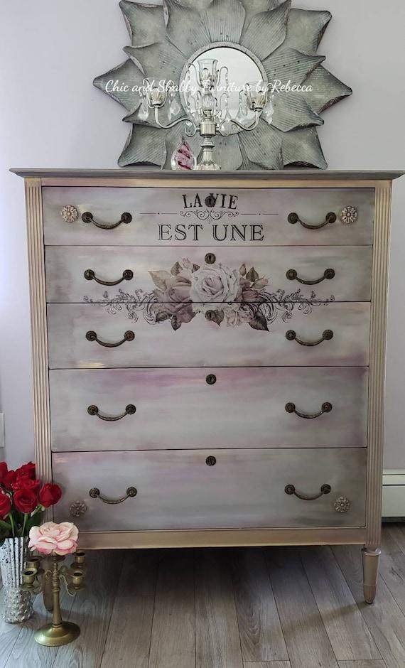 SOLD...Stunning vintage dresser...