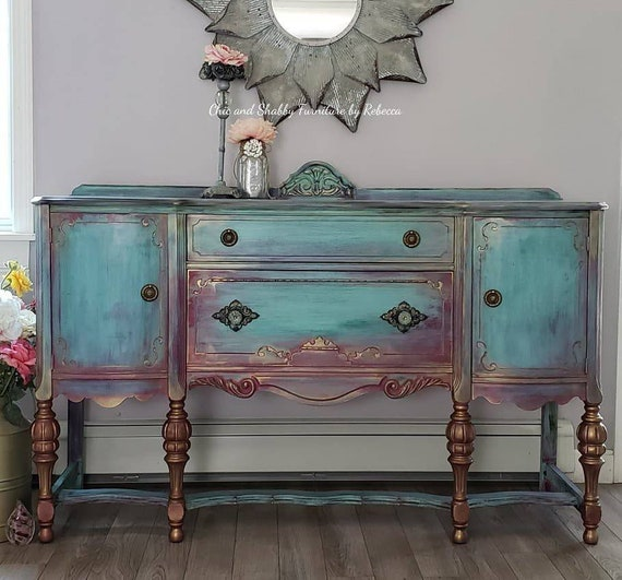 SOLD...Stunning vintage buffet...