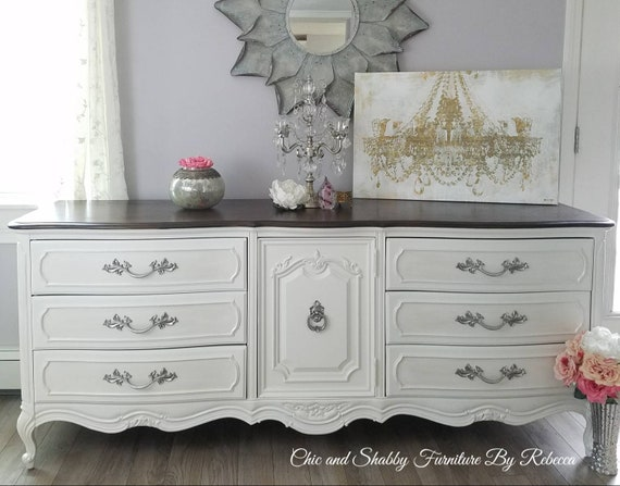 SOLD***Softly distressed Thomasville French Dresser