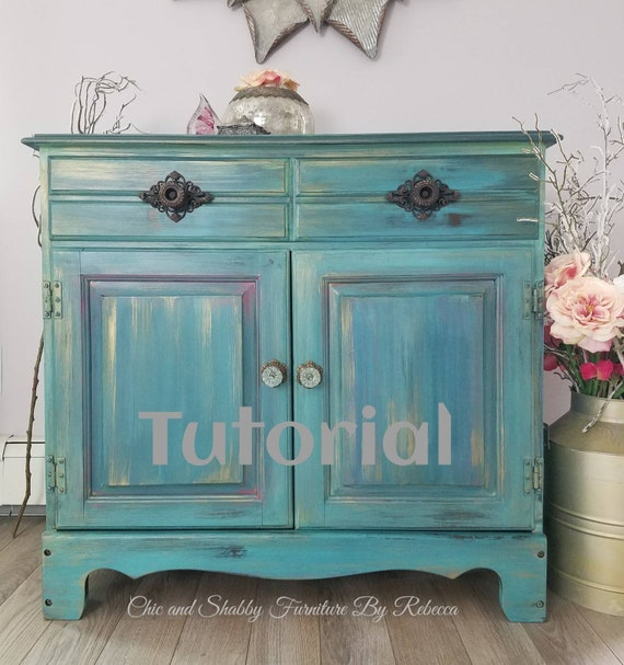 Tutorial - Techniques - Blending - Chic and Shabby Furniture By Rebecca