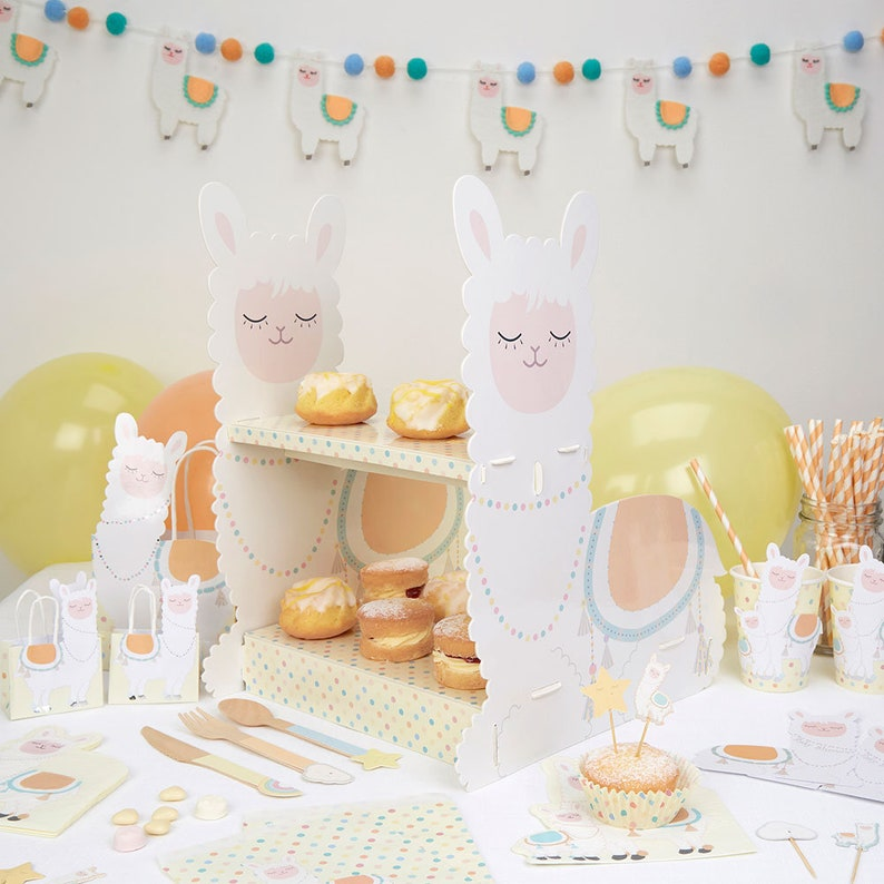 Llama Sweet Bags Treats Baby Shower Kids Party Decorations Birthday Tropical