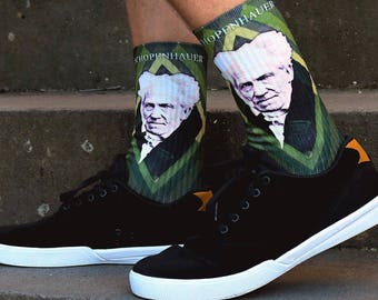 Arthur Schopenhauer Socks