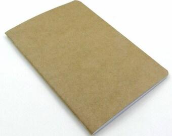 Planner A. Craft-dot Notebook kraft cover