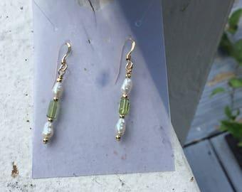 Peridot and Pearls