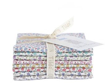 TILDA SOPHIE BASICS Metric Fat Eighth Bundle   Sophie Quilt Fabric Bundle   8 Fat Eighths   Tilda Fabric   Gift