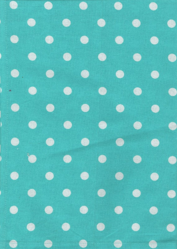 Blue Polka Dot Tea Towel Blue Polka Dot Kitchen Towel Etsy