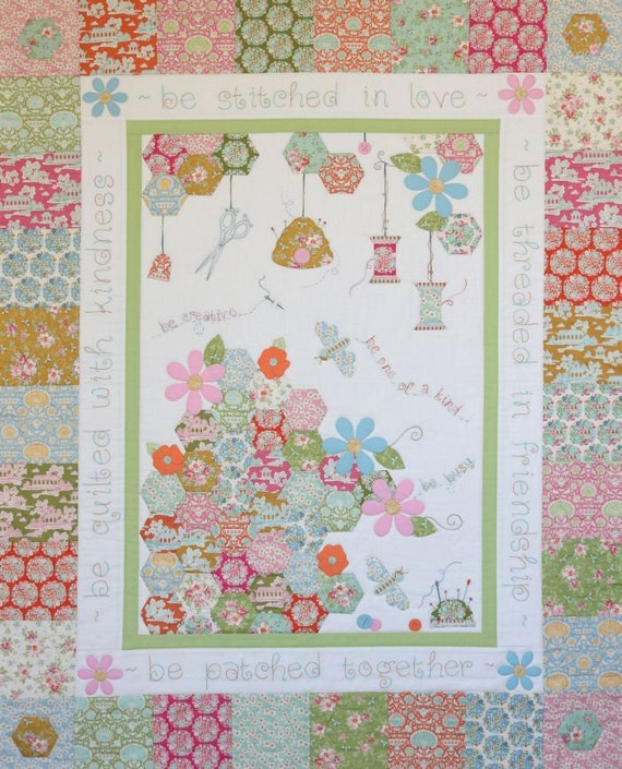 The Quilting Bee Quilt By Leanne Knell Of Petals Patches Etsy