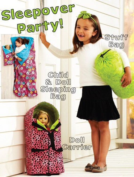 SHIPS TODAY Kwik SEW Sleepover Party Pattern Child and Doll | Etsy