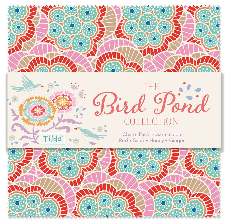 Tilda Bird Pond 5 Ginger Fat Quarter Pack