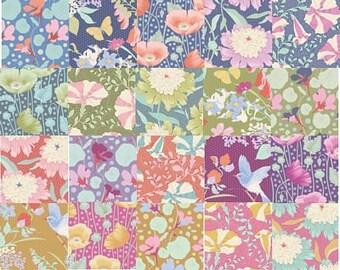 TILDA GARDENLIFE Fat Eighth Bundle   Garden Life Quilt Fabric   Fat Eighth   Quilting Fabric Bundle   Gift