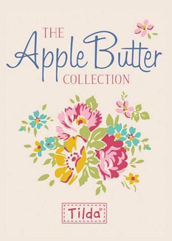 PRÉCOMMANDE! PRÉCOMMANDE! PRÉCOMMANDE! Tilda pomme beurre couette tissu | Marie-Claire Teal | Métrage | Tissu Tilda couette | SKU 100151 | par yard | f2adf5