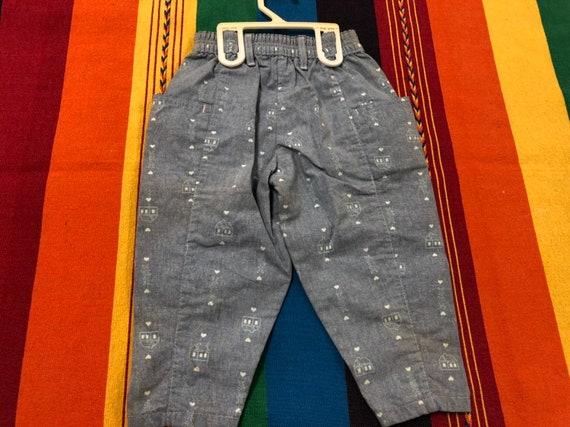 Deadstock Lee, 2T kids jeans, kids denim, vintage… - image 2