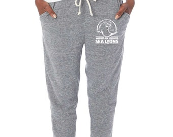 Ladies Alternative Joggers- with small logo
