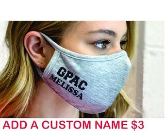 GPAC Cotton Blend Face Mask