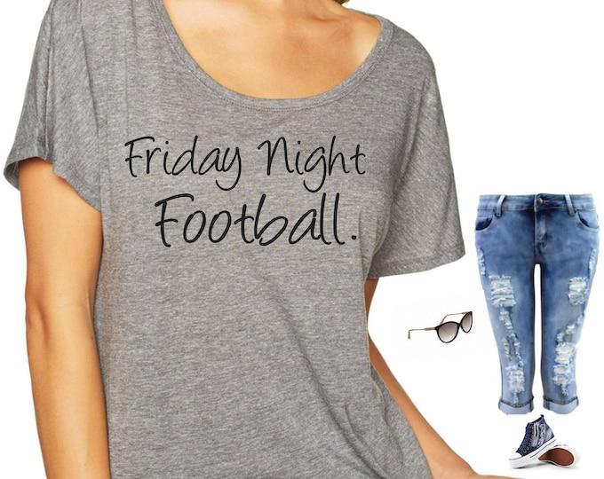 Friday Night Football shirt . Cute, comfy, football tshirt , Womens Shirts , ladies trendy shirts - small, medium, large, xl, xxl, xxxl