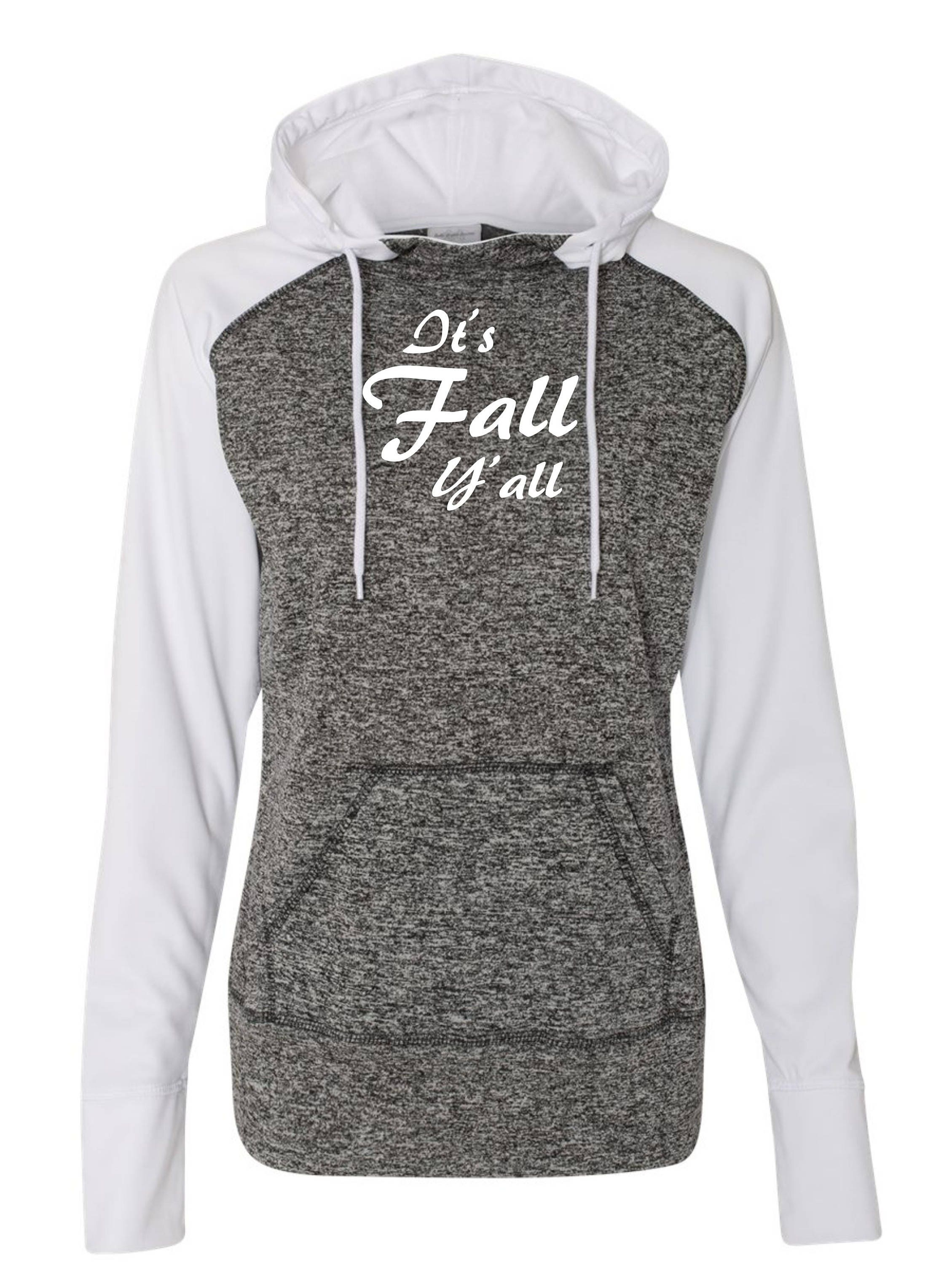It s Fall Yall Hoodie . Womens Comfy winter pullover hooded sweatshirt .  Fall sweatshirts . kangroo pockets  922a7ae390