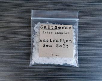 Australian Coarse Sea Salt • SaltNerds Salty Sampler • 1 oz