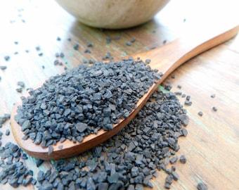 Hawaiian Black Lava Sea Salt • 3.8 oz • Grinder Refill Kraft Pouch