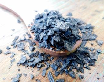 Pyramid Black Salt • 1.5 oz • Mediterranean Flake Sea Salt • Activated Charcoal • Refill Kraft Pouch
