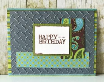 Birthday card, greeting card, friend birthday, birthday gift, brother birthday card, personalized birthday card, birthday card for men