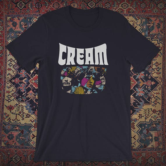 cream band shirt etsy