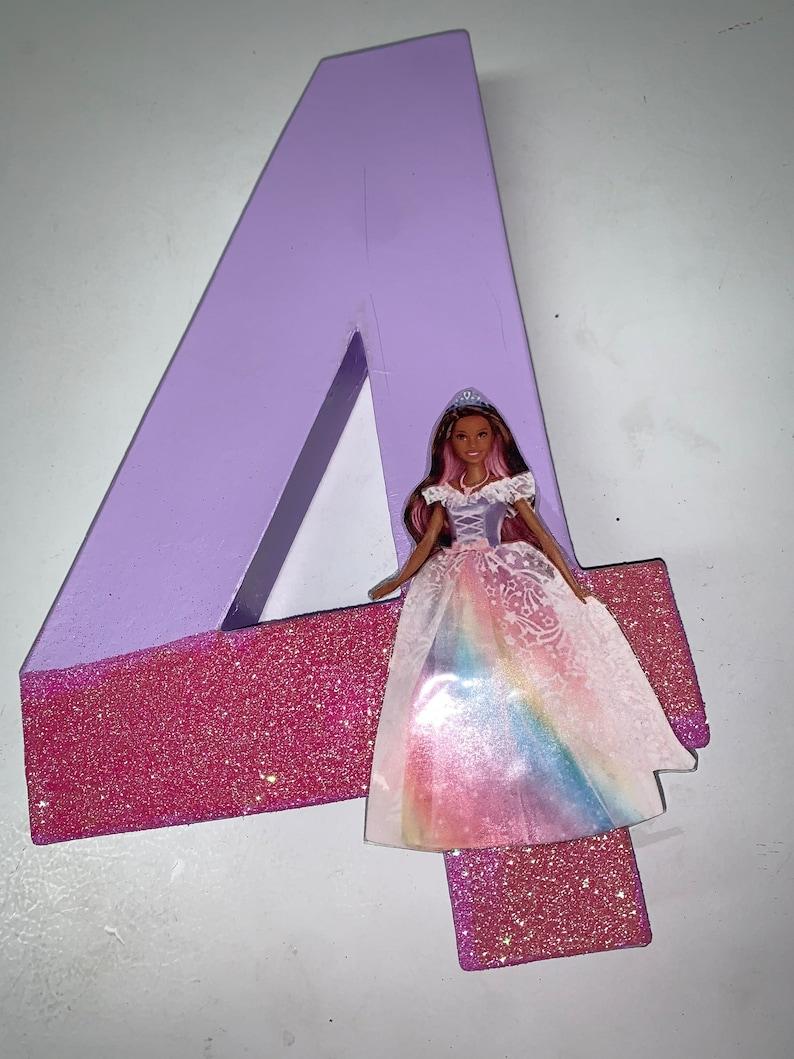 Princess Number Prop