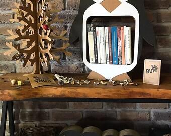 Hipster Girl Bookshelf