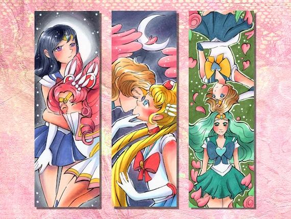 Sailor Moon Inner Scouts Refrigerator Magnet Set Anime Manga NEW