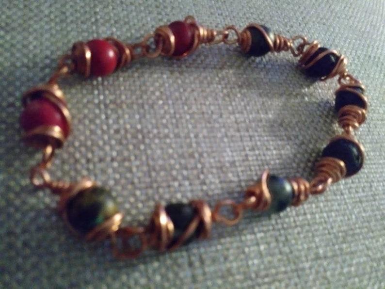 Copper Link Bracelet image 0