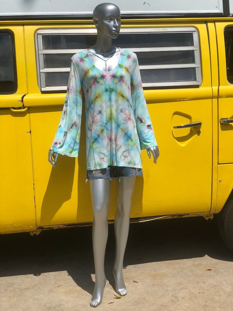 Bluebell Tie Dye Tunic Large