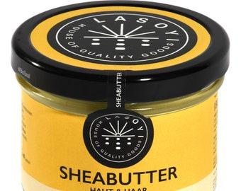 Unraffinierte Sheabutter, rein, natürlich & in Handarbeit hergestellt