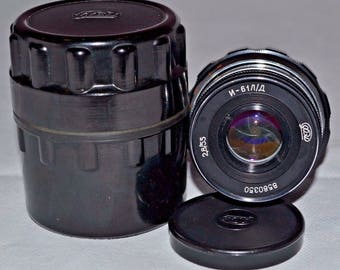 INDUSTAR 61 L/D 2.8/55 M39 Russian Lens for FED Zorki Leika