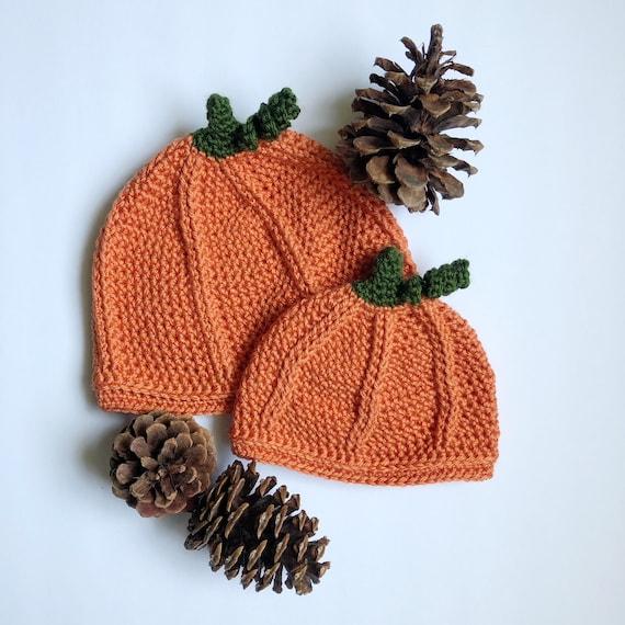 Pumpkin Beanie Pumpkin Patch Crochet Pattern Baby Pumpkin  096ad280b3a