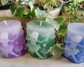 Made to Order Faded Oval Fairy Candle