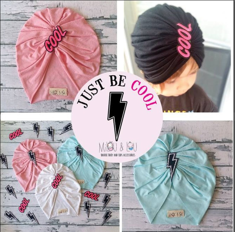 Turban hat Elastic turban,Newborn turban Fashion turban Baby turban Rock style turban Elastic turban Preemies Mommy and me set turban