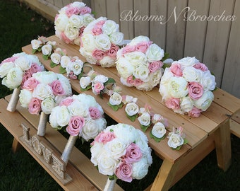 Bridesmaid bouquets etsy popular items for bridesmaid bouquets mightylinksfo