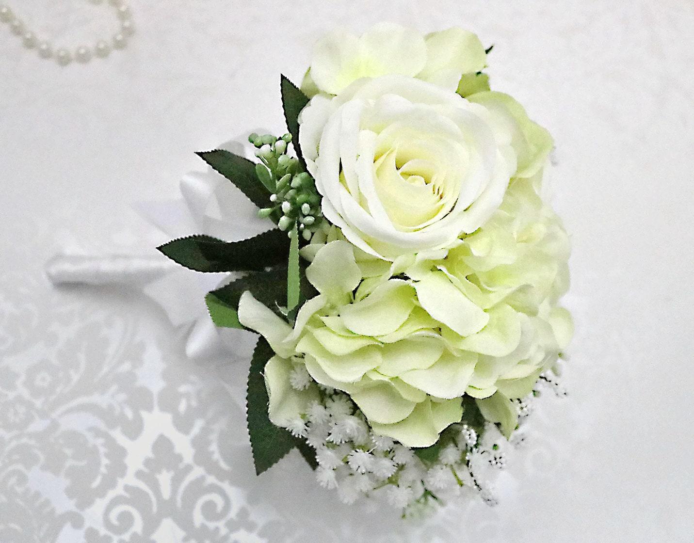 kleiner Blumenstrauß / Brautjungfern Strauß/künstliche | Etsy