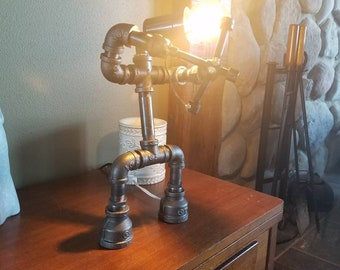 Bow hunter pipe lamp