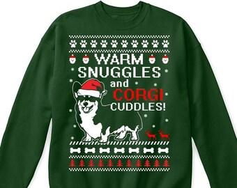 corgi sweater etsy