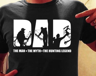 a9e28735 The man the myth the bow hunting legend shirt, bow shirt, bow hunting shirt,  bow hunting shirt for man, dad shirt, father hunting bow shirt