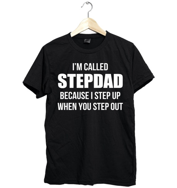 19c39116 Stepdad shirt step dad shirt stepdad t-shirt stepdad gifts   Etsy