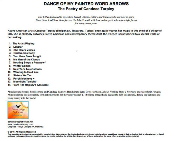 Dance of My Painted Word Arrows  Native, Indigenous