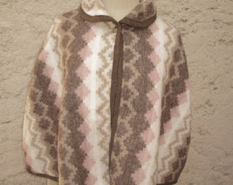 Cape woolly chocolate, pink and ivory